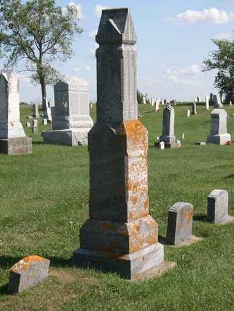 ROWLEY, FAMILY STONE - Linn County, Iowa | FAMILY STONE ROWLEY