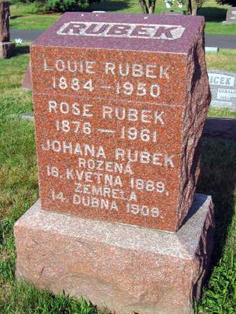 RUBEK, ROSE - Linn County, Iowa | ROSE RUBEK