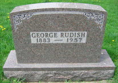 RUDISH, GEORGE - Linn County, Iowa | GEORGE RUDISH