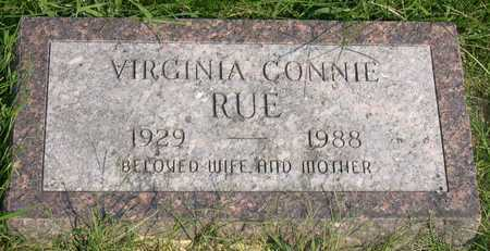 RUE, VIRGINIA CONNIE - Linn County, Iowa | VIRGINIA CONNIE RUE