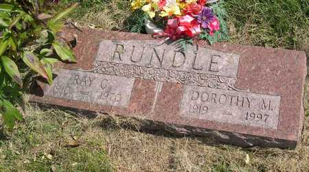 RUNDLE, RAY C. - Linn County, Iowa | RAY C. RUNDLE