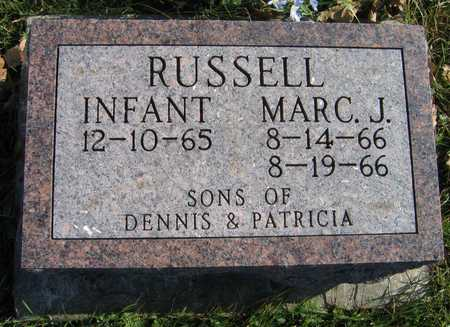 RUSSELL, INFANT - Linn County, Iowa | INFANT RUSSELL