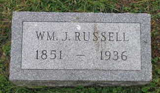 RUSSELL, WM. J - Linn County, Iowa | WM. J RUSSELL
