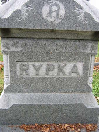 RYPKA, FAMILY STONE - Linn County, Iowa | FAMILY STONE RYPKA