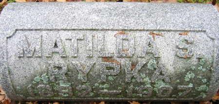 RYPKA, MATILDA S. - Linn County, Iowa | MATILDA S. RYPKA
