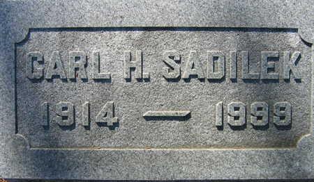 SADILEK, CARL H. - Linn County, Iowa | CARL H. SADILEK