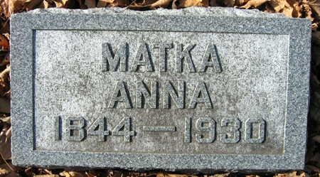 SADOWSKY, ANNA - Linn County, Iowa | ANNA SADOWSKY