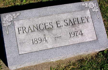 SAFLEY, FRANCES E. - Linn County, Iowa   FRANCES E. SAFLEY