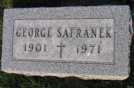 SAFRANEK, GEORGE - Linn County, Iowa | GEORGE SAFRANEK