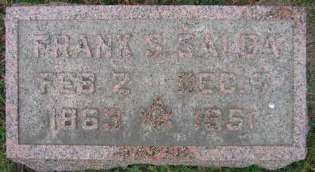 SALDA, FRANK S. - Linn County, Iowa | FRANK S. SALDA