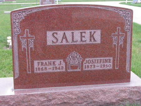 SALEK, FRANK J. - Linn County, Iowa | FRANK J. SALEK
