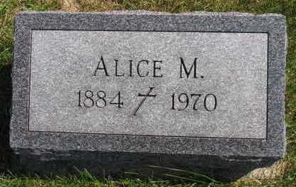 SAMPSON, ALICE M. - Linn County, Iowa | ALICE M. SAMPSON