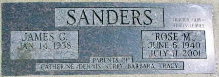 SANDERS, ROSE M. - Linn County, Iowa | ROSE M. SANDERS