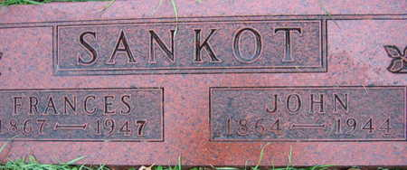 SANKOT, FRANCES - Linn County, Iowa | FRANCES SANKOT