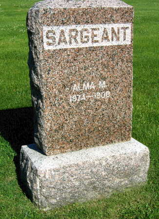 SARGEANT, ALMA M. - Linn County, Iowa | ALMA M. SARGEANT