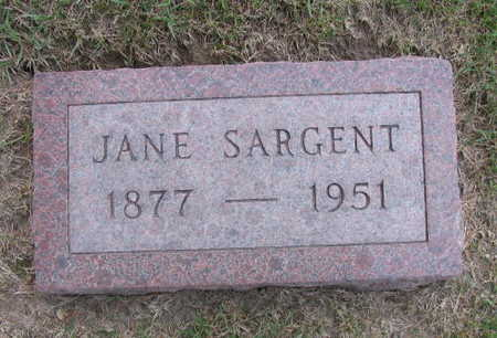 SARGENT, JANE - Linn County, Iowa | JANE SARGENT
