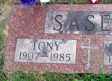 SASEK, TONY - Linn County, Iowa   TONY SASEK