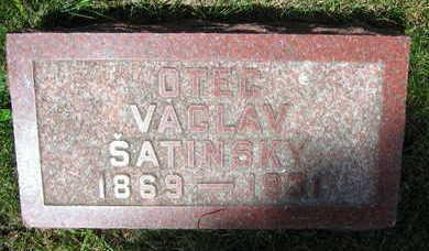 SATINSKY, VACLAV - Linn County, Iowa | VACLAV SATINSKY