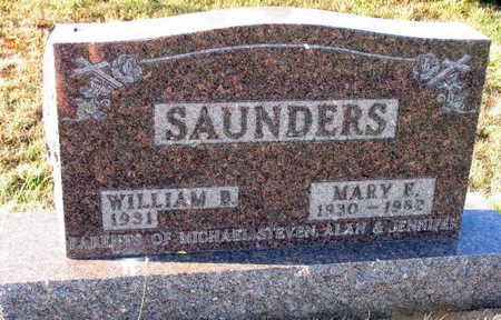 SAUNDERS, MARY E. - Linn County, Iowa | MARY E. SAUNDERS