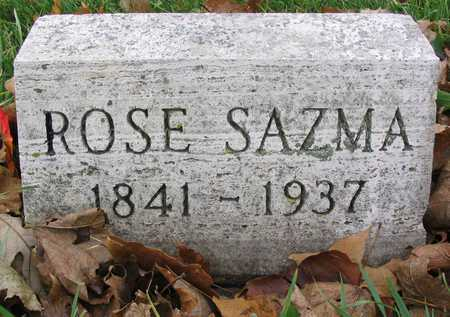 SAZMA, ROSE - Linn County, Iowa | ROSE SAZMA