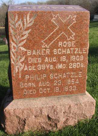 SCHATZLE, ROSE - Linn County, Iowa | ROSE SCHATZLE