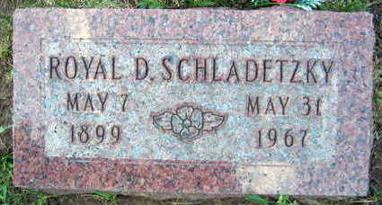 SCHLADETZKY, ROYAL D. - Linn County, Iowa | ROYAL D. SCHLADETZKY