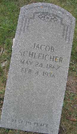 SCHLEICHER, JACOB - Linn County, Iowa | JACOB SCHLEICHER