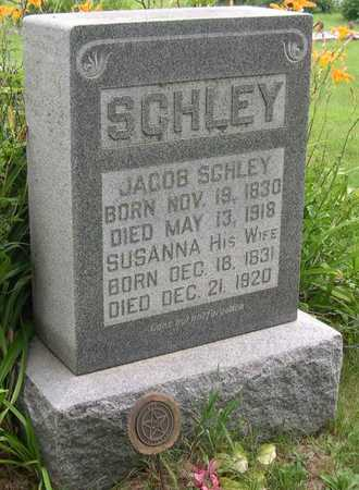 SCHLEY, JACOB - Linn County, Iowa | JACOB SCHLEY