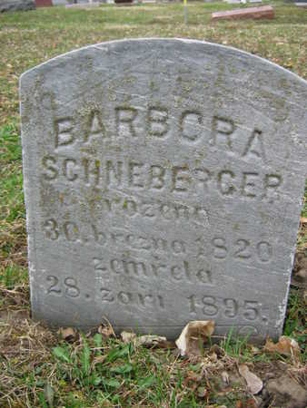 SCHNEBERGER, BARBORA - Linn County, Iowa | BARBORA SCHNEBERGER