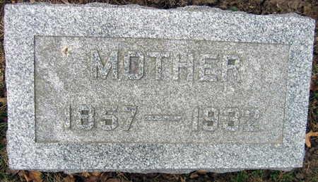 SCHNEBERGER, MOTHER - Linn County, Iowa   MOTHER SCHNEBERGER