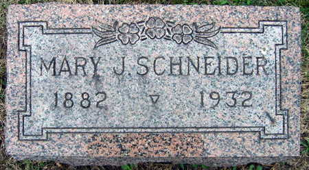 SCHNEIDER, MARY J. - Linn County, Iowa | MARY J. SCHNEIDER