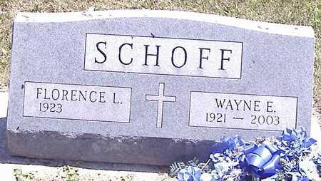 SCHOFF, WAYNE E. - Linn County, Iowa | WAYNE E. SCHOFF