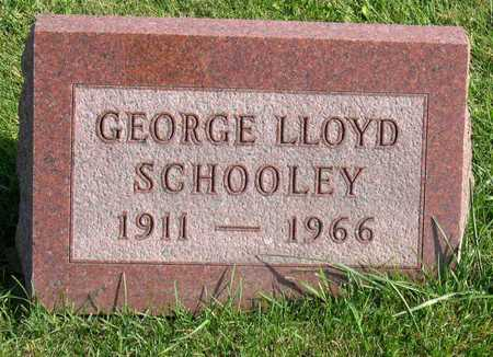 SCHOOLEY, GEORGE LLOYD - Linn County, Iowa | GEORGE LLOYD SCHOOLEY