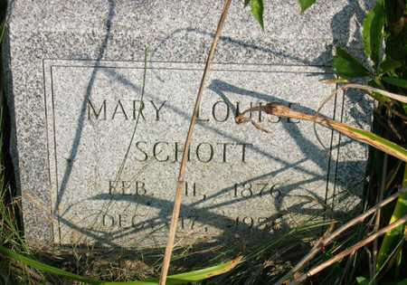 SCHOTT, MARY LOUISE - Linn County, Iowa | MARY LOUISE SCHOTT
