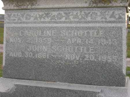 SCHOTTLE, JOHN - Linn County, Iowa | JOHN SCHOTTLE