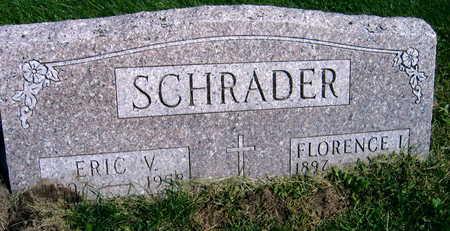 SCHRADER, FLORENCE I. - Linn County, Iowa | FLORENCE I. SCHRADER