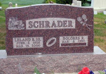 SCHRADER, LELAND R. SR. - Linn County, Iowa | LELAND R. SR. SCHRADER