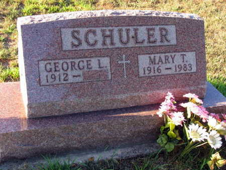 SCHULER, MARY T. - Linn County, Iowa | MARY T. SCHULER