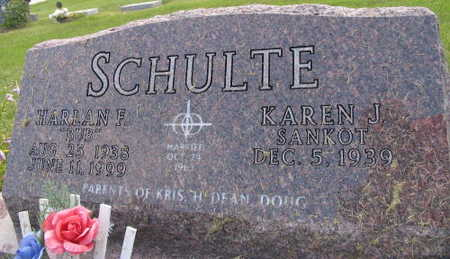 SCHULTE, HARLAN F.