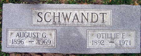 SCHWANDT, AUGUST G. - Linn County, Iowa | AUGUST G. SCHWANDT