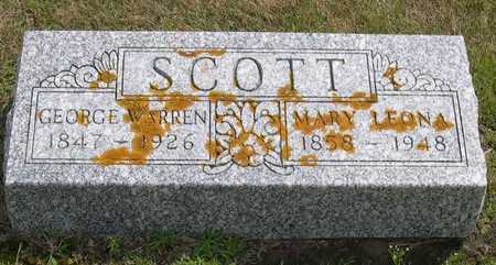 SCOTT, GEORGE WARREN - Linn County, Iowa | GEORGE WARREN SCOTT