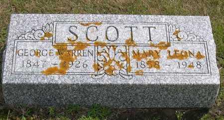 SCOTT, MARY LEONA - Linn County, Iowa | MARY LEONA SCOTT