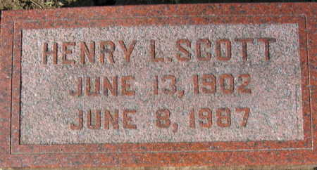 SCOTT, HENRY L - Linn County, Iowa | HENRY L SCOTT