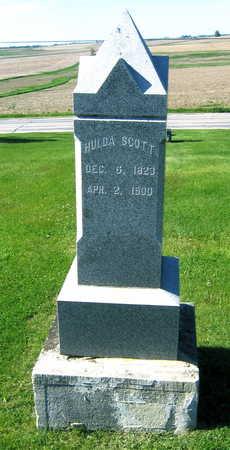 SCOTT, HULDA - Linn County, Iowa | HULDA SCOTT