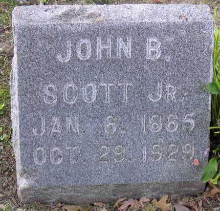 SCOTT, JOHN B., JR. - Linn County, Iowa   JOHN B., JR. SCOTT