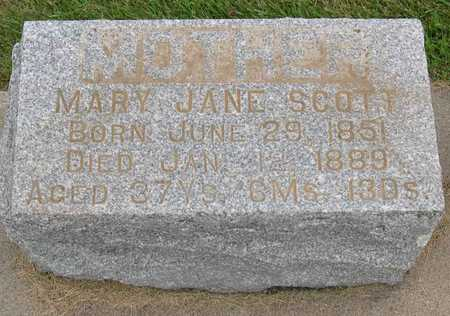 SCOTT, MARY JANE - Linn County, Iowa | MARY JANE SCOTT