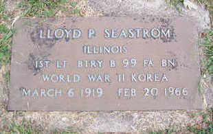 SEASTROM, LLOYD - Linn County, Iowa | LLOYD SEASTROM