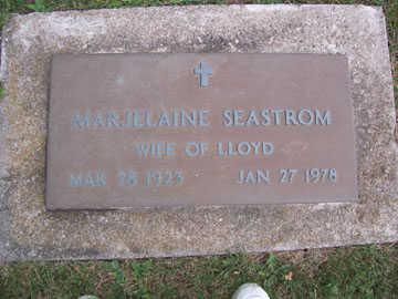 SEASTROM, MARJELAINE - Linn County, Iowa | MARJELAINE SEASTROM