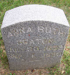 SEATON, ANNA RUTH - Linn County, Iowa | ANNA RUTH SEATON