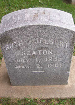 HURLBURT SEATON, RUTH - Linn County, Iowa | RUTH HURLBURT SEATON